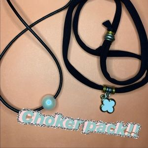 Two cute choker necklaces